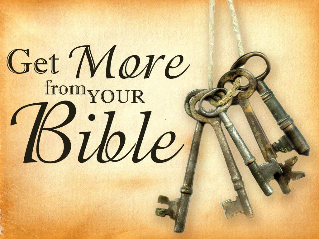 Get More From Your Bible