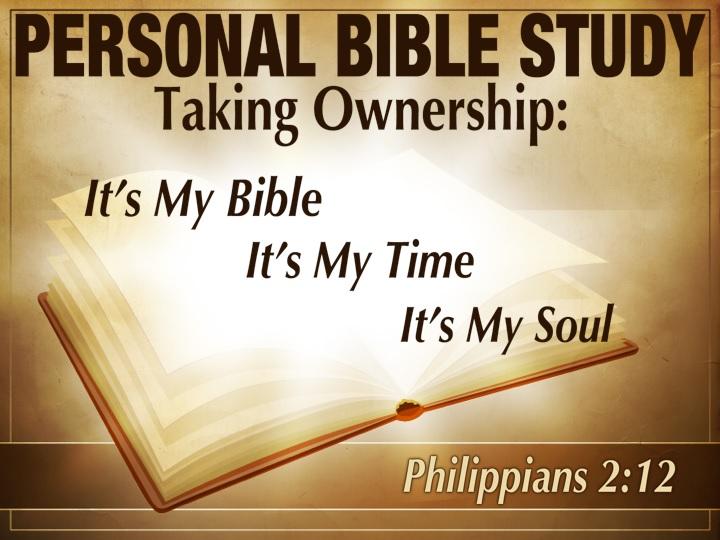 My Bible, My Time, My Soul