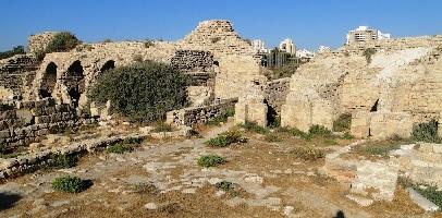 Ashdod castle ruins