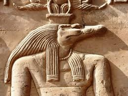 Exodus-CrocodileHead of Sobek, god of Nile