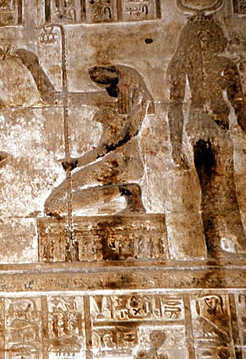 Exodus-Heqet,FrogGoddess at Dendera Temple