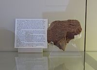 Jehoichin's ration tablet, Babylon.jpg