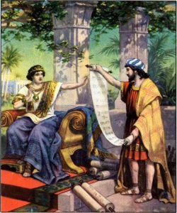 King Josiah Hears the Law II Chronicles 34:14-19