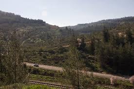 Rephaim Valley outside Jerusalem