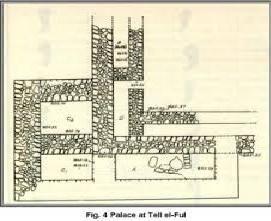 Saul's Palace at Gibeah