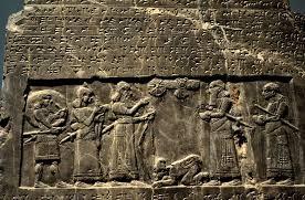 Shalmaneser III obelisk re Hazael&Hadad
