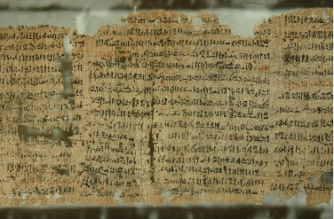 Taking of Joppa in Harris Papyrus, British Museum