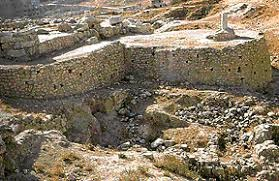 Temple to Baal-Berith in Shechem