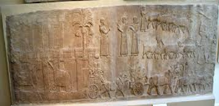 Tiglath-Pilesser palace wall panels, Nimrod, British Museum