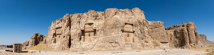 Tombs of Darius I, Xerxes, Artaxerxes, Darius II,