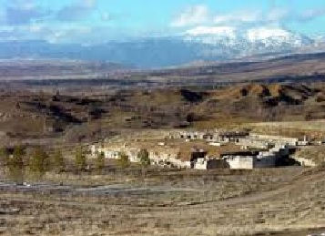 Antioch dwafed by Pisidian Mtns.