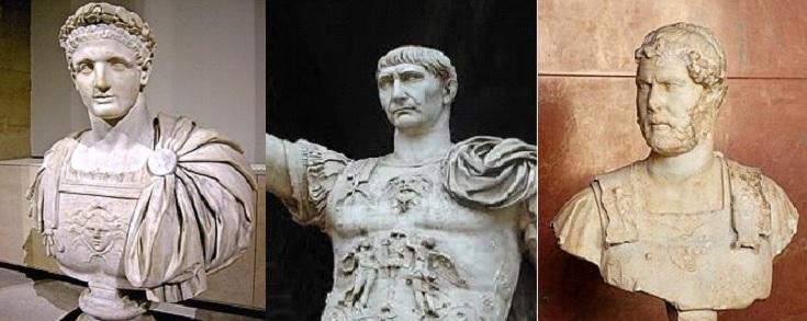 Peter-Domitian-Trajan-Hadrian